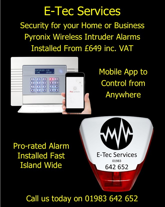 Wireless Intruder Alarms from E-Tec Services